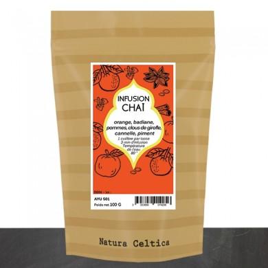 infusion CHAI  : orange épices douces    BIO