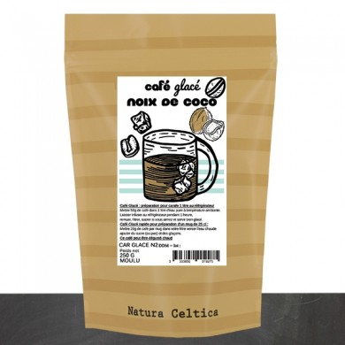 café glacé noix de coco