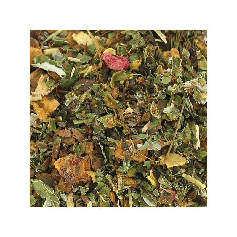 plantes CHAI  : framboise cannelle