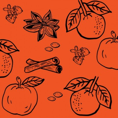infusion CHAI  : orange épices douces