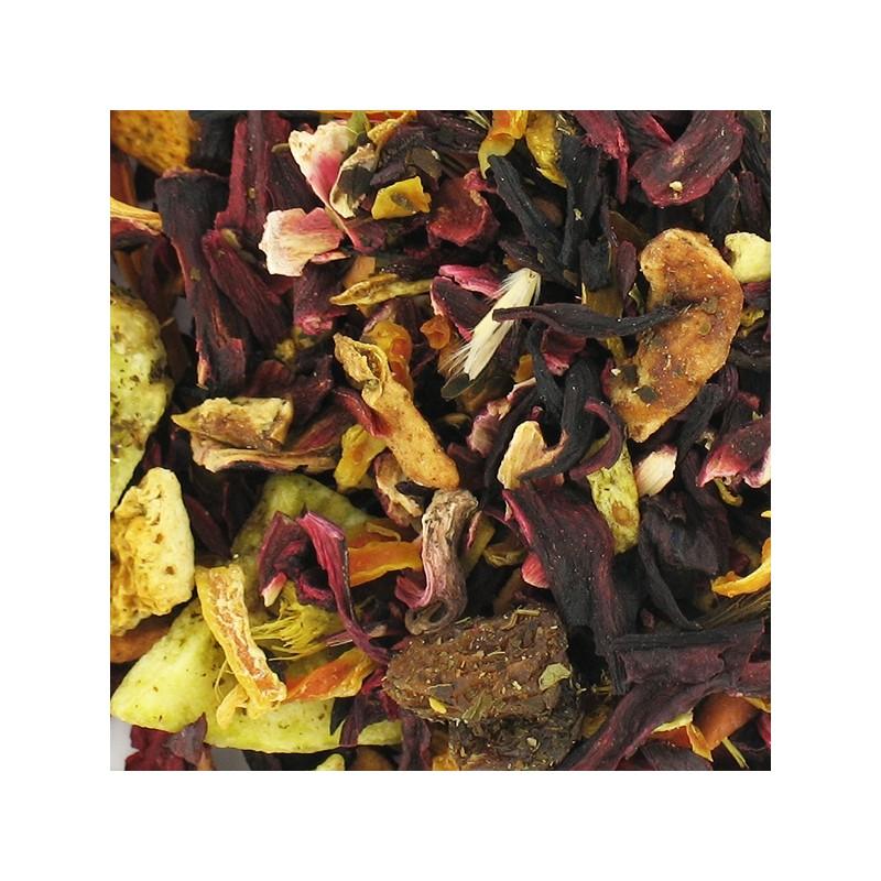 Infusion bio d'hibiscus citron menthe