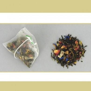 thé blanc vanille fruits exotiques 20 pyramides P6
