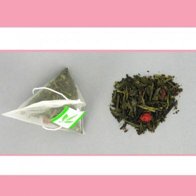thé vert groseilles fruits rouges 20 pyramides P4